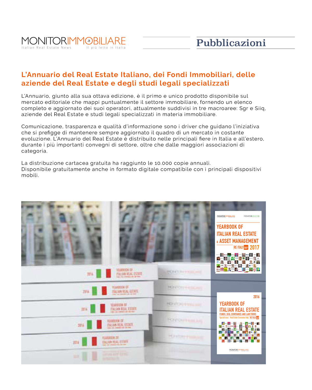 Monitorimmobiliare, news Studio Legale Scarselli e Associati a Roma